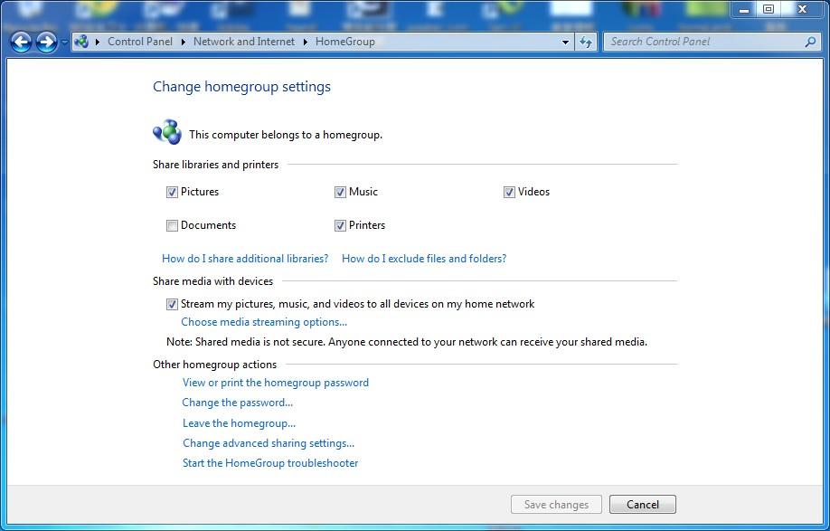 Upnp сервер windows 7